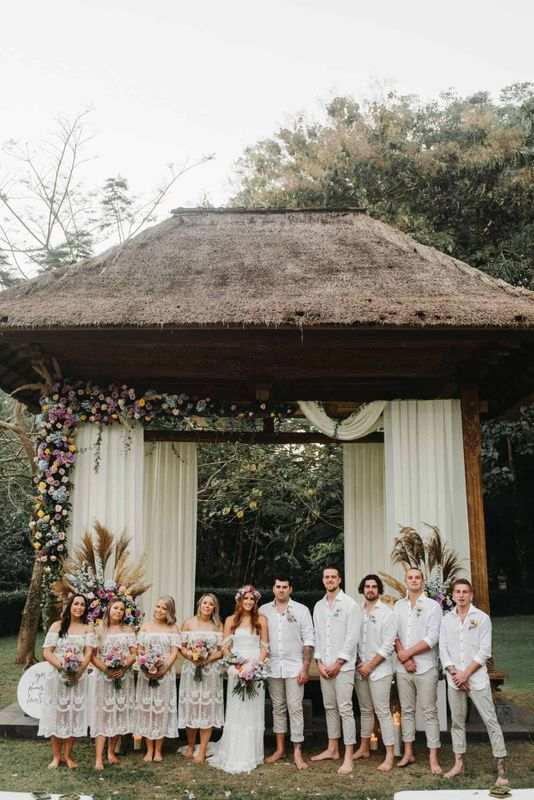 Meaghan Luke Villa Sanctuary Canggu Bali Wedding12