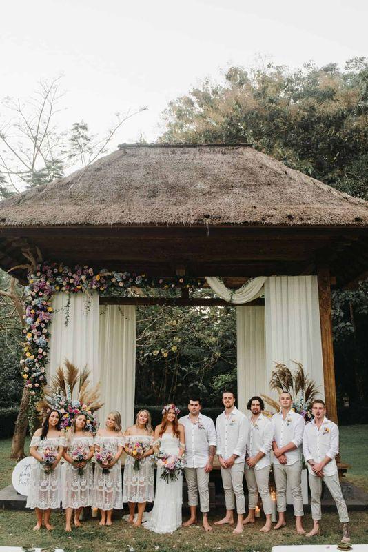 Meaghan Luke Villa Sanctuary Canggu Bali Wedding12