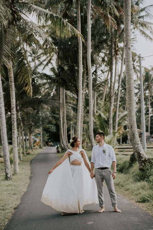 Bali Elopement Tibumana Waterfall Bali Wedding Inspiration28