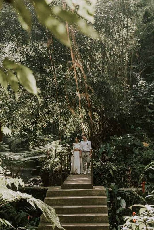 Bali Elopement Tibumana Waterfall Bali Wedding Inspiration27