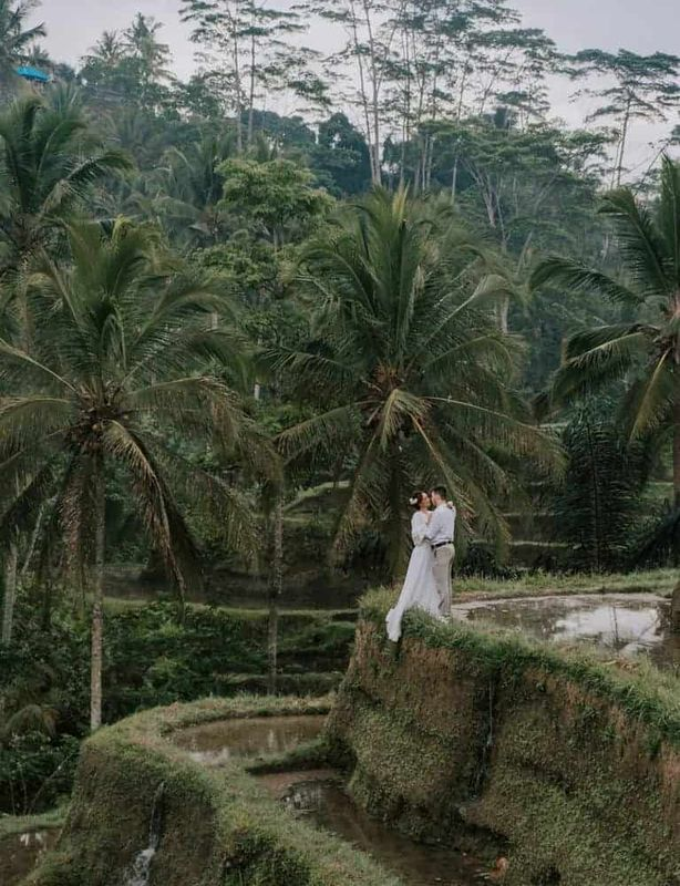 Bali Elopement Tibumana Waterfall Bali Wedding Inspiration2