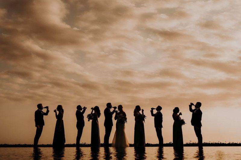 Bali Wedding - Silver Lace - Courtney & Troy 15