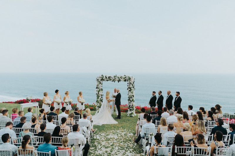 Bali Wedding Ungasan Clifftop Resort Bali Wedding Directory6