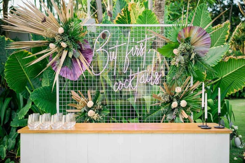 A Dreamy Styled Shoot with Bali Event Hire at Noku Beach House, Seminyak | The Bali Bride, Bali Wedding Inspiration