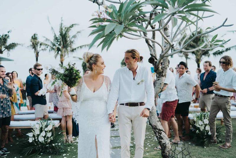 Real Bali Wedding: Scarlett and Jai's Modern Tropical Bali Wedding in Canggu   The Bali Bride, Bali Wedding Directory