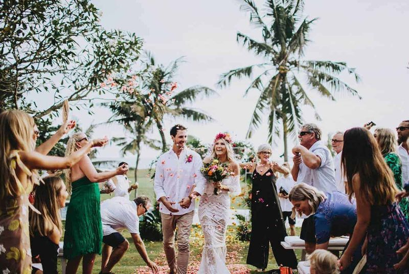 Real Bali Wedding: Jenieka & Jack, Sungai Tinggi Villa in Canggu | The Bali Bride Wedding Directory