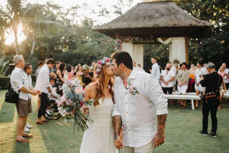Real Bali Wedding: Meaghan + Luke, Villa the Sanctuary Canggu